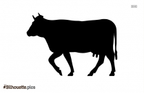 Cow Domestic Animals Silhouette