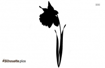 Annie Sunflower Clip Art Silhouette