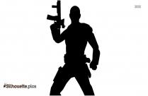 Black Deadshot Silhouette Image