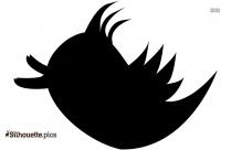 Black Disney Birds Silhouette Image