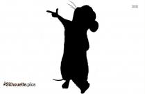 Pikachu And Pichu Bros Clipart Silhouette