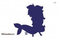 Black Phantom Tetra Silhouette
