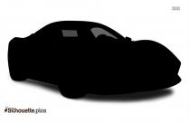 Black And White SUV Car Silhouette