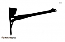 Firefighter Tools Symbol Silhouette