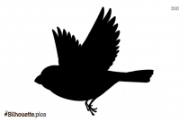 Flying Bird Cartoons Silhouette Vector And Graphics