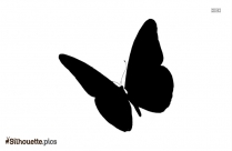 Flying Butterfly Wallpaper Silhouette Illustration