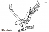 Flying Bird Silhouette Clipart Picture