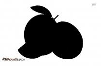 Cartoon Carrot Silhouette Clip Art