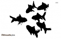 Cute Fish Silhouette Clip Art