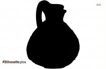 Clay Jar Silhouette