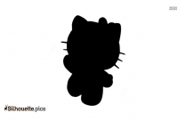 Cute Hello Kitty Picture Silhouette