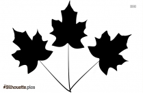 Free Leaves Silhouette Images