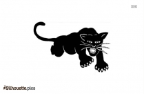 Black Panther Silhouette Clipart