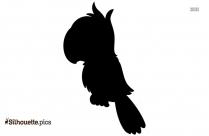 Parrot Flying Silhouette