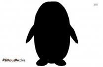 Penguin Dancing Silhouette Icon
