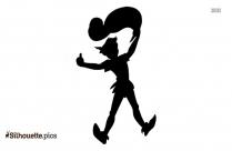 Daisy Duck Silhouette Clipart