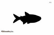 Orca Tail Silhouette Drawing