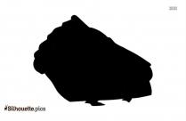Black Pie Silhouette