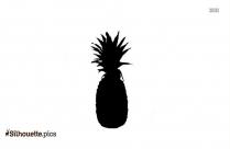 Cartoon Pineapple Silhouette