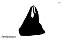Plastic Trash Bag Silhouette Image