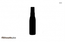 Bottle Of Oil Clip Art Silhouette