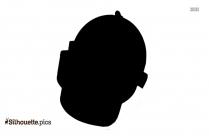 Black Pubg Helmet Silhouette Image