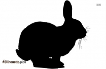 Rabbit Silhouette Vector And Graphics