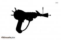 Rifle Symbol Silhouette Free Vector Art