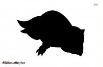 Black Sandshrew Alola Silhouette Image