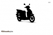 Indian Scooter Silhouette Picture