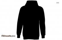 Black Shirt Hoodie Silhouette
