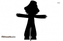 Scary Zombie Silhouette Clip Art