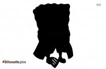Princess Peach Silhouette Clipart