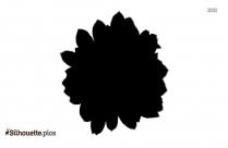 Black Succulent Plants Silhouette Image