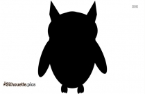 Cartoon Owl Silhouette Art