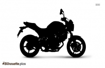 Suzuki Gladius Silhouette Clip Art