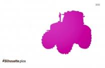 Cartoon Motorbike Silhouette Image And Vector