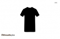 T Shirt Silhouette Black And White