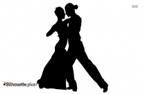 Couple Dancing Silhouette Image And Vector