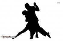 Dancing Cartoons Silhouette