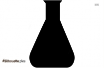 Test Tube Silhouette Image And Vector
