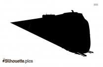 Black Train Silhouette