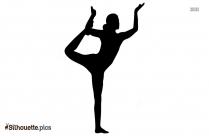 Yoga Poses Forte Silhouette, Clipart