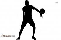 Rocky Johnson Silhouette Clipart