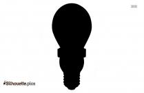 Blank Bulb Silhouette