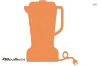 Tea Strainer Silhouette Icon