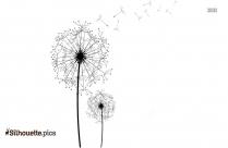 Free Dandelion Flower Silhouette