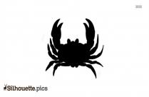 Blue Crab Silhouette