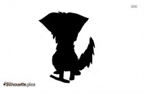Blue Jay Feather Silhouette Drawing