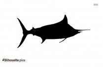 Blue Marlin Fish Silhouette Image